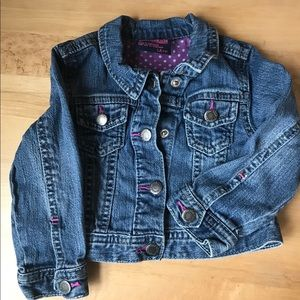 Oshkosh Jeans Jacket with pink details
